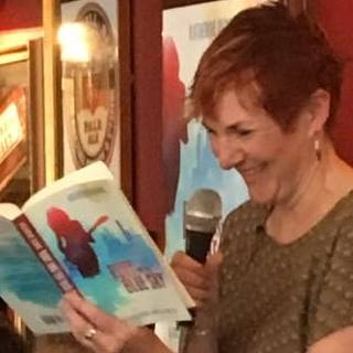 Katherine Dewar reading from Ruby and the Blue Sky