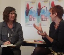 Nicola Patrick and author Katherine Dewar
