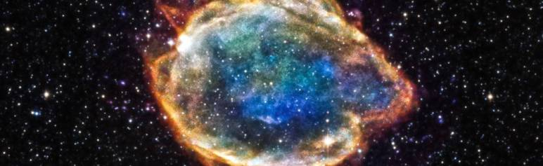 Flash explosion of a star to illustrate flash fiction and the short short story. Image: NASA