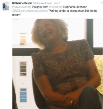 Stephanie Johnson on writing novels